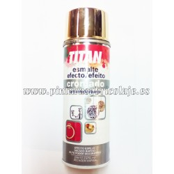 SPRAY CROMADO ORO TITAN