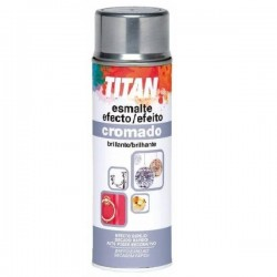 SPRAY CROMADO TITAN 200 ML.