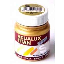 ACUALUX METALIZADO 80 ML.
