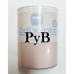 CHALK PAINT  TITAN BACHATA BLANCA 750 ML.