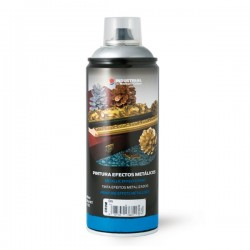 PINTURA SPRAY EFECTO CROMADO 400 ML.