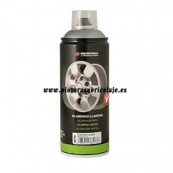 SPRAY ALUMINIO LLANTAS 400 ML.