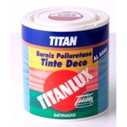 BARNIZ TINTE DECO SATINADO 500 ML.